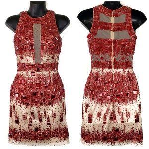 SHERRI HILL Ruby Jewel Dress